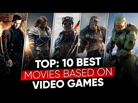TOP 10: Best Movies Based on Video Games | Game Movies in Hindi | Moviesbolt