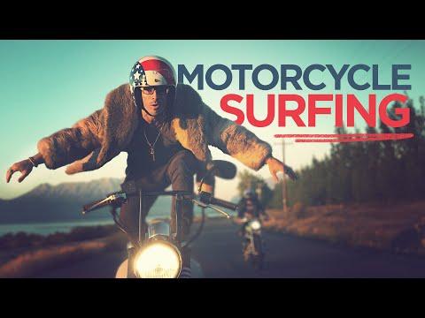 """Motosurf"" a alta velocidade"