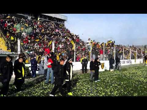 Deportivo Madryn entrada a la cancha con Estudiantes de Rio Cuarto - La Incomparable - Deportivo Madryn