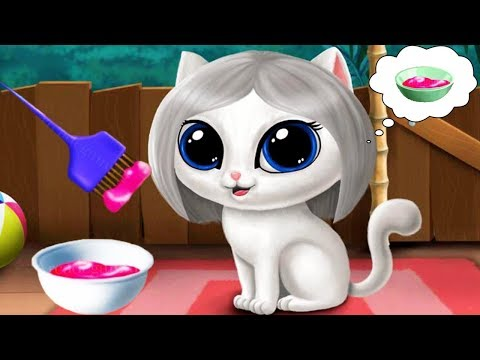 Baby Jungle Animal Hair Salon 2 - Jungle Animal New Style Makeover Dress Up - Fun Baby Pet Care Game