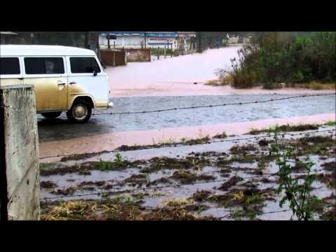 enchente em Canoinhas e Três Barras SC junho de 2014