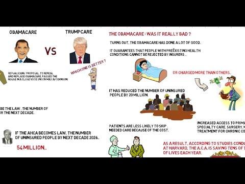 Obamacare Vs Trumpcare | ThingsToKnow