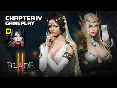 Blade II (Release) - Chapter 4 Gameplay (Eng Dub) - Android on PC - Mobile - F2P - KR