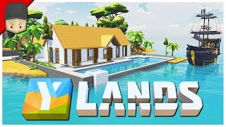 YLANDS - The Beach House! (Survival/Crafting/Exploration/Sandbox Game)