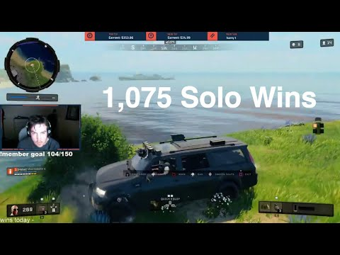 this is what 1,000 Solo Wins looks like in COD BLACKOUT (hilarious end chat)