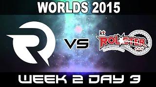 OG vs KT - 2015 World Championship Week 2 Day 3 - Origen vs KT Rolster, liên minh huyền thoại, lmht, lol