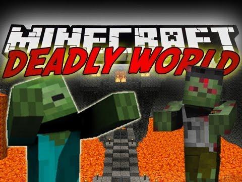 Minecraft Mod Showcase : Deadly World !