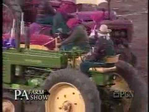 A new event at the PA Farm Show - the tractors actually do the dancing!