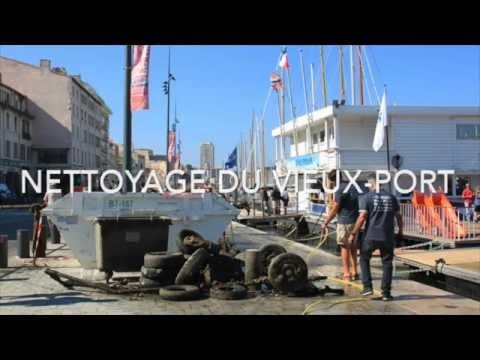 """Opération """"Nettoyage du Vieux-Port de Marseille"""""""