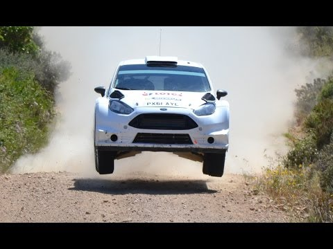 Test Robert Kubica Rally Italia Sardegna 2014 [HD]