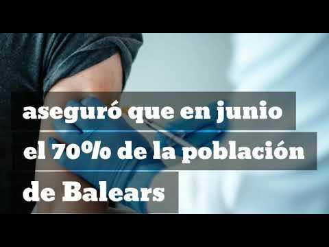 Armengol no garantiza que el 70% de la población de Balears esté vacunada contra la COVID19 en junio