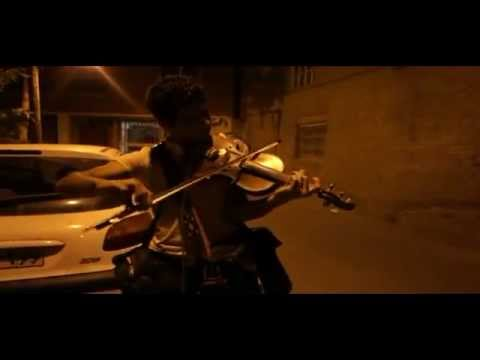 Kianoush Shahnazi Iranian street Violinist