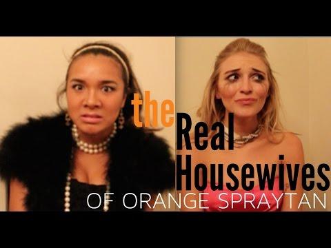 Real Housewives of Orange Spraytan
