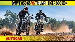 7. BMW F 850 GS vs Triumph Tiger 800 XCx | Comparison Review | Autocar India