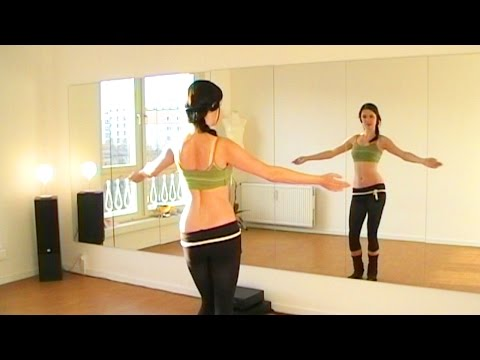 Элементы Танца живота: качалочка. Видео урок.