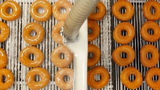 Video How Krispy Kreme Doughnuts Are Made MP3, 3GP, MP4, WEBM, AVI, FLV Mei 2018