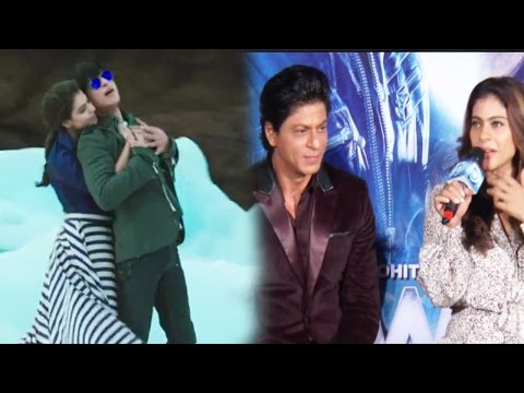 Shah Rukh Khan And Kajol Reveal The Challenges The