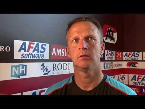 Van den Brom over AZ - FC Utrecht