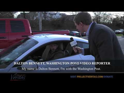 WaPo Video Reporter Reacts to James O'Keefe