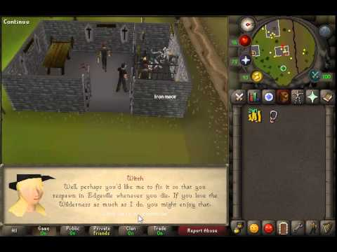 How & WHY to Change Respawn To Edgeville Guide | 2007 Old School Runescape (видео)