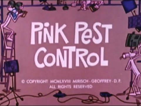 Pink Panther: PINK PEST CONTROL (TV version, laugh track)