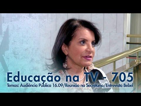 Audiência Pública 16/09 / Reunião na Secretaria / Entrevista Bebel