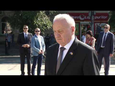 Президент Республики Молдова почтил память господаря Штефана Великого