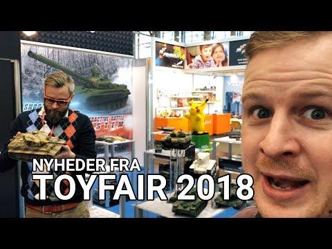 Nyheder fra ToyFair 2018