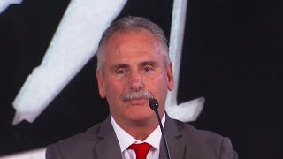 Listen to what the new head of Team Canada, Willie Desjardins, had to say as Hockey Canada announced their management team that will lead Canada's men's national hockey team to the 2018 Olympics.