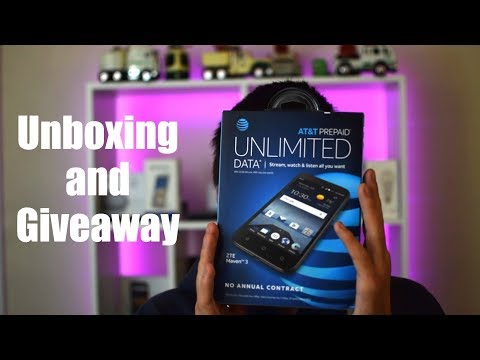 ZTE Maven 3 Unboxing and Giveaway