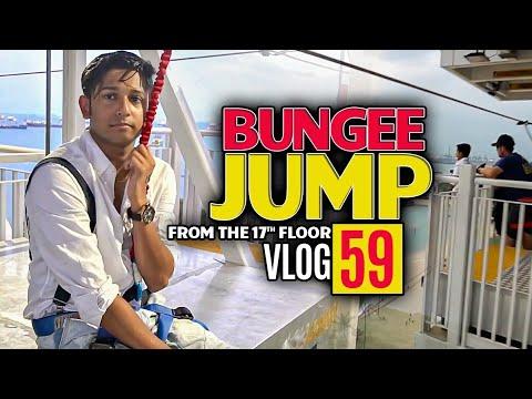 Download Bangladesh To Singapore   Bungee Jumping   ১৭ তলা উপর থেকে লাফ দিলাম   Tawhid Afridi   Vlog 59 hd file 3gp hd mp4 download videos
