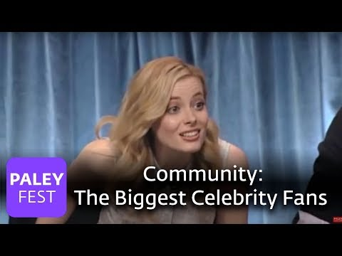 Community - The Biggest Celebrity Fans