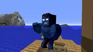 GIANT CREEPER UFO!? - Scramble Craft (Minecraft)
