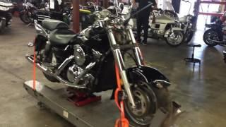 8. 2006 Kawasaki Vulcan Nomad VN 1600 (black) 1698 Fallen Cycles