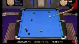 9 Ball World Pool Championships 2006   Efren Reyes Vs Dennis Orcollo Part1