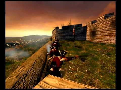 Battlegrounds - A revolutionary war mod based on the half life 2 engine. Battlegrounds 2 combines real world musket physics, with intense hand to hand fighting. Download the...