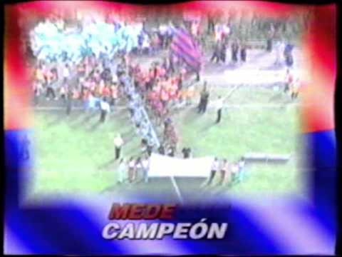 Medellin CAMPEON 27/Jun/2004    EN TU CARA ! - Rexixtenxia Norte - Independiente Medellín