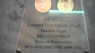 Carson City (NV) United States  city photos gallery : U.S. Mint Carson City, NV. - Nevada State Museum 2011 - Video 1