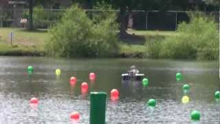 RoboBoat 2012: Competition Qualifying Run (Part 1/2)