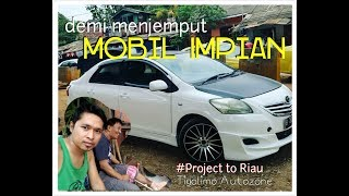 Download Video Demi menjemput mobil TOYOTA VIOS limo impian, Project to Pekanbaru #vlog4 (tigolimo Autozone) MP3 3GP MP4
