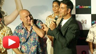 Nonton Omg   Akshay Kumar Slaps Anupam Kher   The Shaukeens Trailer Launch Film Subtitle Indonesia Streaming Movie Download