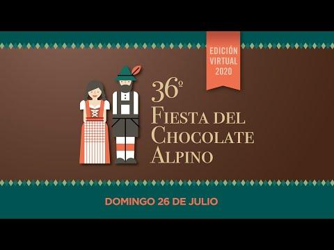 ❄️36° Fiesta del Chocolate Alpino🍫 Edición Virtual 2020 🍰 видео