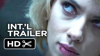 Lucy Official International Trailer #1 (2014) - Scarlett Johansson Movie HD