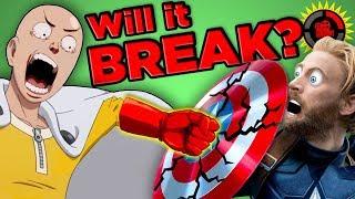 Video Film Theory: Will Marvel BREAK in One Punch? (Infinity War Vibranium vs. One Punch Man) MP3, 3GP, MP4, WEBM, AVI, FLV September 2018