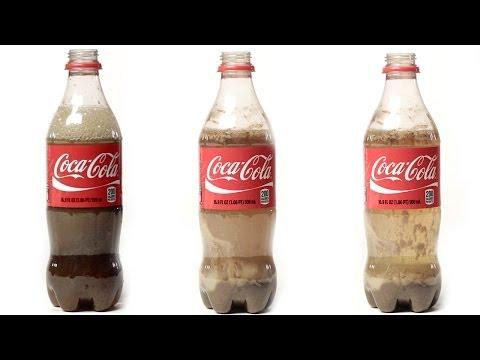 magici esperimenti con la coca cola