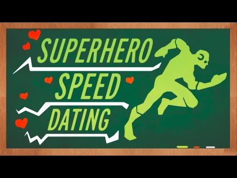 Super Hero Speed Dating
