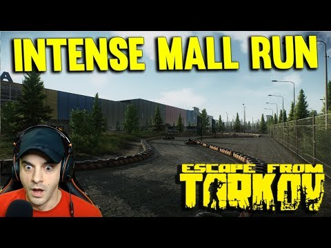 INTENSE MALL RUN - ESCAPE FROM TARKOV INTERCHANGE MAP