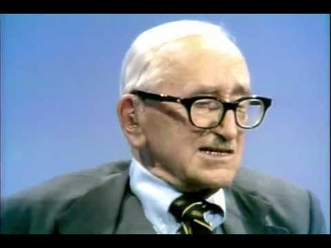 hayek - From Firing Line, William F Buckley Jr hosts a discussion on social justice with George Roche III (Hillsdale College) and Noble Laureate economist F. A. Haye...
