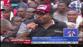 Governor Ali Hassan Joho Leads Mombasa Residents In Anti-IEBC Protests