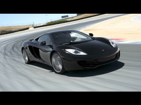 MPEG 4 Part 14 - Pro driver Randy Pobst hot laps the 2012 McLaren MP4-12C around Mazda Raceway Laguna Seca as part of Motor Trend's 2012 Best Driver's Car competition. The 20...